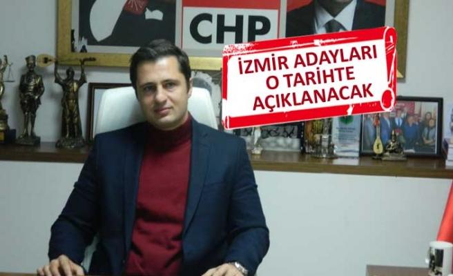 CHP İl Başkanı Yücel açıkladı: Adaylar o tarihte duyurulacak!