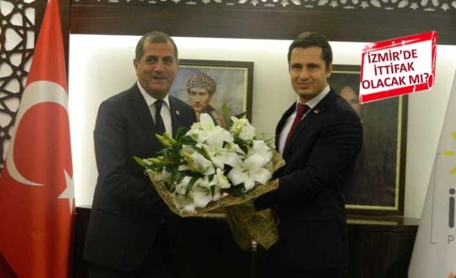 CHP İzmir'den İYİ Parti'ye ziyaret! İttifak için ne dediler?