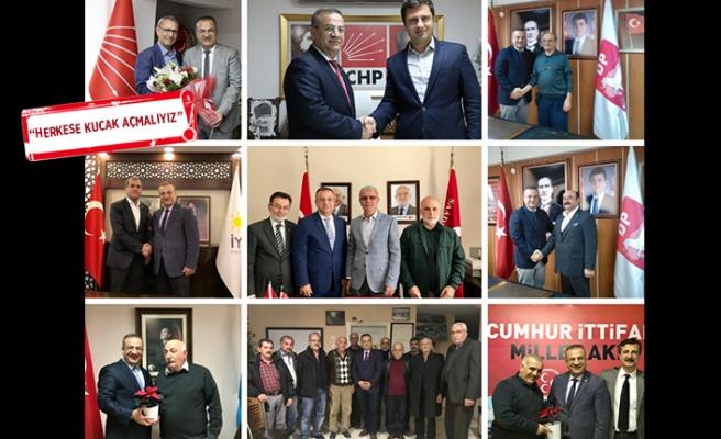 CHP'li Başak'tan il başkanlığı çıkarması