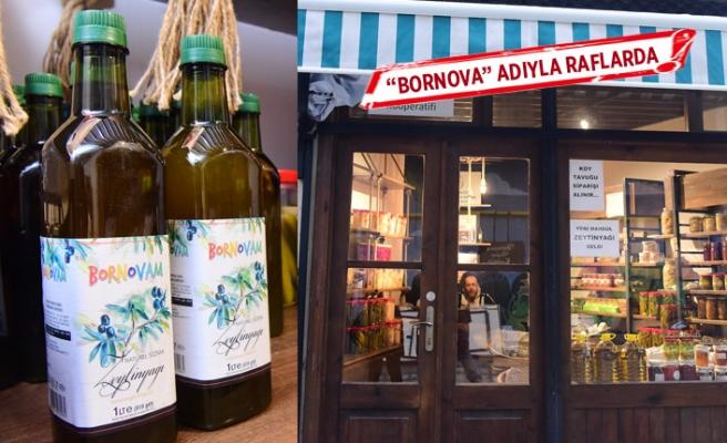 Çiftçi'nin ürünleri Bornova adıyla marka oldu