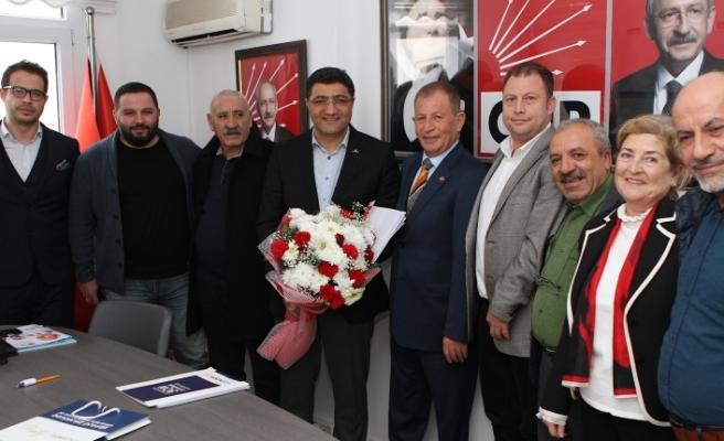 Ege Koop Genel Başkanı Hüseyin Aslan, İzmir'in dev ilçesine talip oldu!