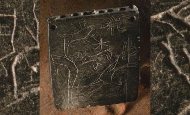 Gaziantep'te büyü yazılı 2800 yıllık taş kap