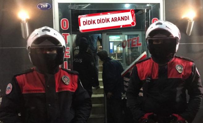 İzmir'de 210 polisle denetim!