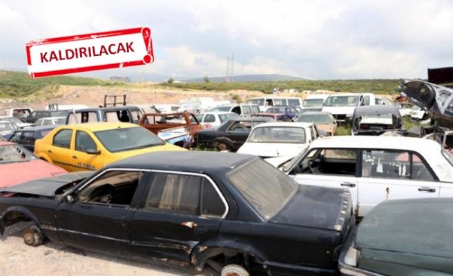 İzmir'de hurda araç operasyonu!