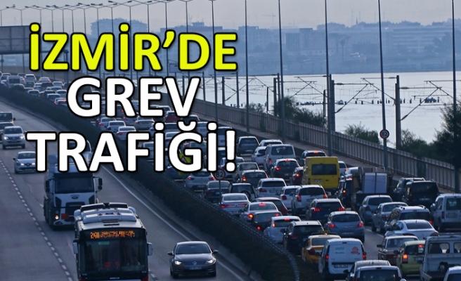 İzmir'de 'İZBAN' trafiği