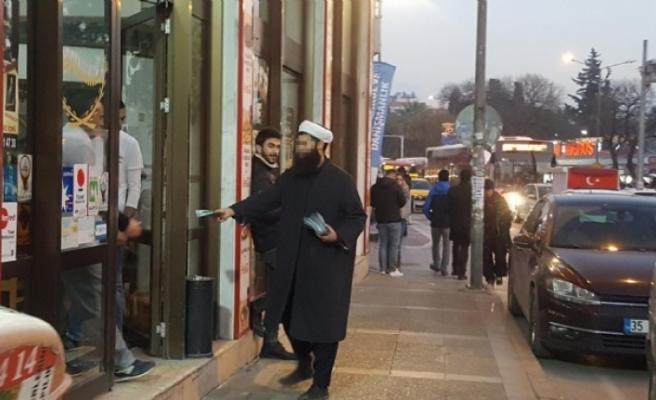 İzmir'de provokatif bildiri dikkat çekti!