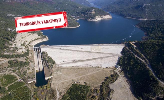 İzmir'de yağmurla barajlar doldu