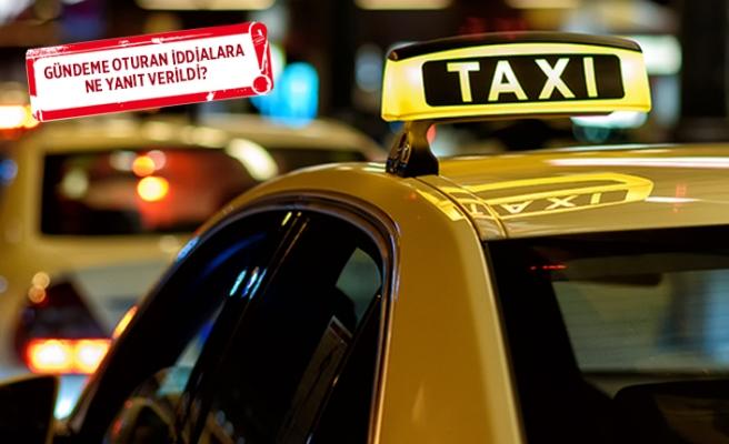 İzmir'deki taksicilerden 'kamera' açıklaması