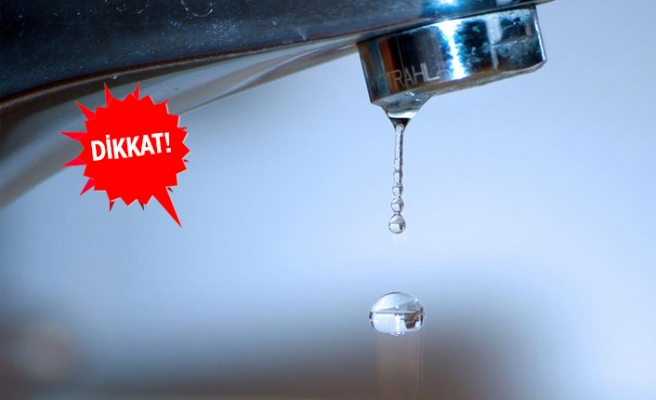 İZSU duyurdu: O mahallenin tamamında su kesintisi!