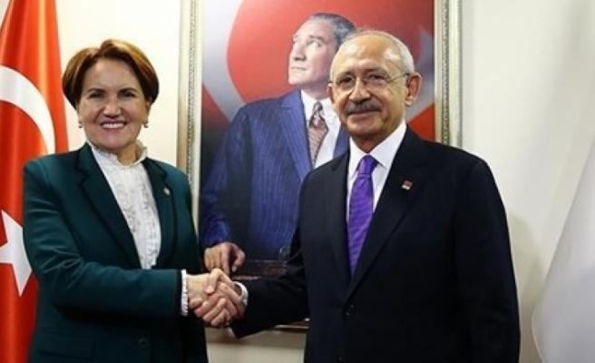 Kılıçdaroğlu ile Akşener bu akşam bir araya gelecek