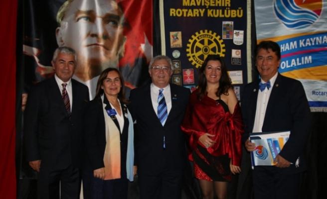 Mavişehir Rotary'e federasyon başkanı ziyareti
