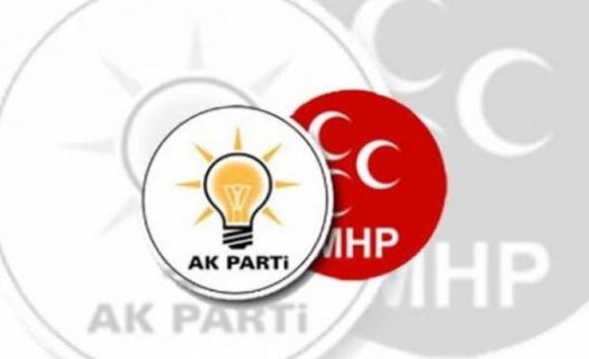 MHP 8, AK Parti 2 ilde adayını çekiyor