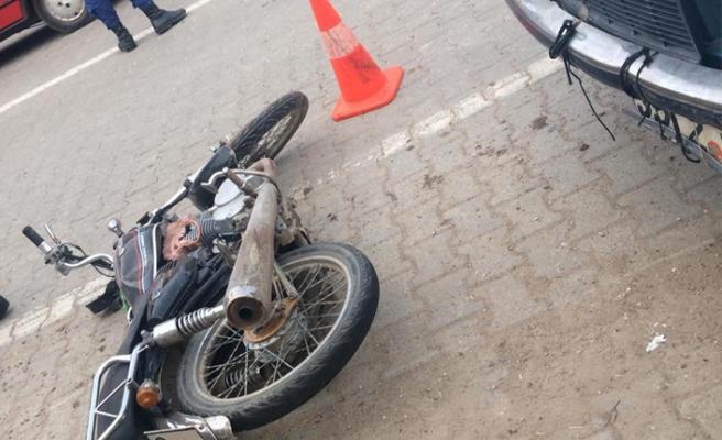 Ödemiş'te motor kazası: 1 ölü