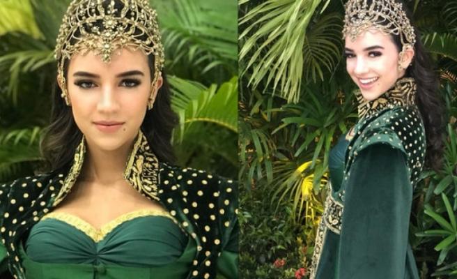 Tara de Vries, Hürrem Sultan kostümü ile büyüledi