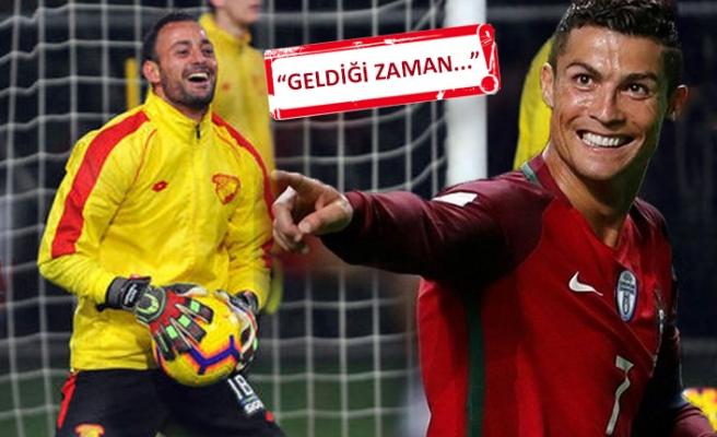 Beto'dan Ronaldo'ya İzmir daveti
