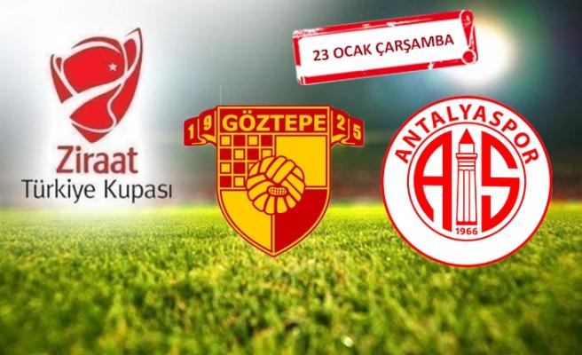 Göztepe,Antalyaspor'a konuk olacak