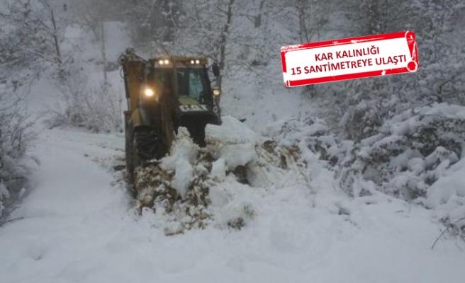 İzmir'de 13 köy yolu ulaşıma kapandı!
