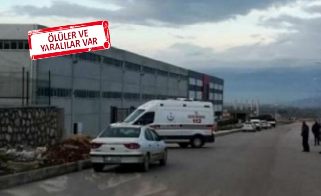 İzmir'de fabrikada patlama