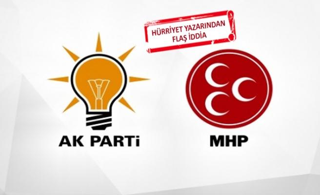 """""""İzmir'de üç ilçe MHP'ye bırakılacak"""""""