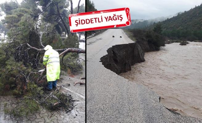 İzmir'de 1 aylık yağmur 3 günde yağdı!