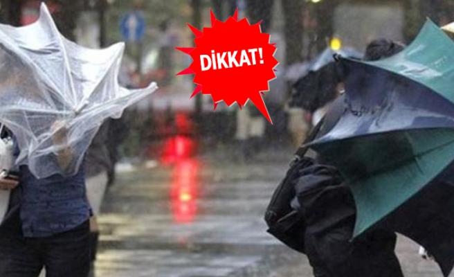 Meteoroloji'den Ege'ye kritik uyarı