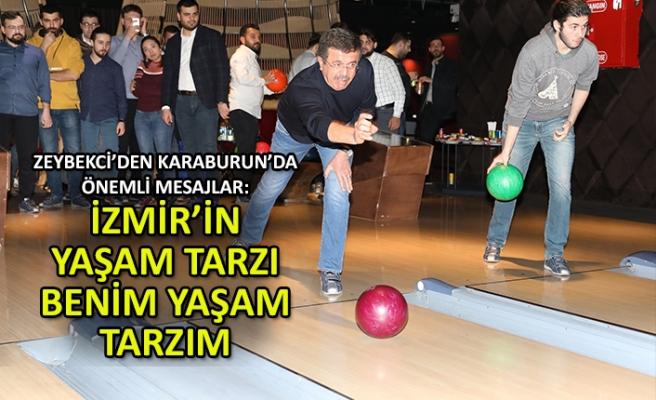 Zeybekci: İzmir'in yaşam tarzı, benim yaşam tarzım