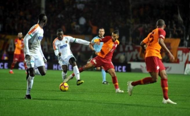 Aytemiz Alanyaspor: 1 - Galatasaray: 1