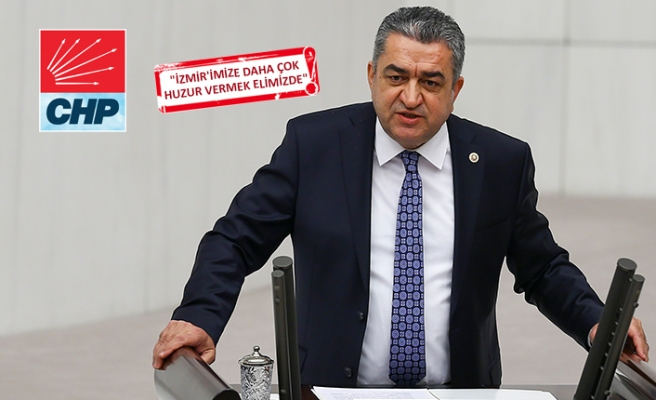 CHP'li Serter'den İzmir manifestosu