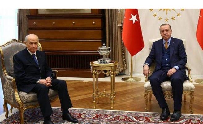 Cumhurbaşkanı Erdoğan Devlet Bahçeli ile görüşecek!