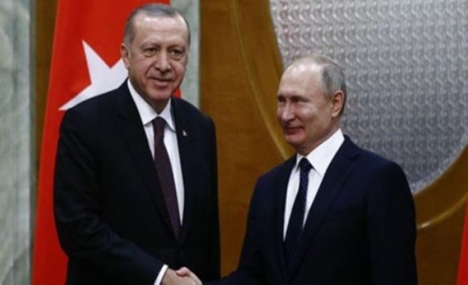 Erdoğan'dan Soçi'de Fırat'ın Doğusu mesajı