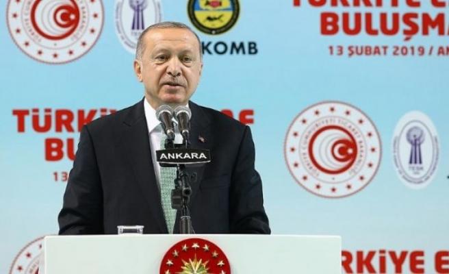 Erdoğan: Ekonomik tetikçilere Osmanlı tokadı vuracağız