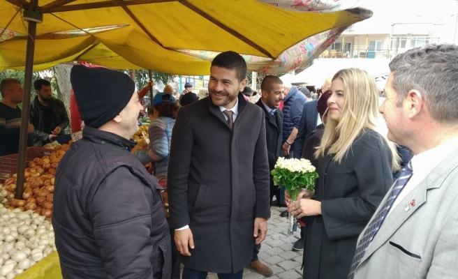 Fatih Gürbüz pazara indi, destek istedi