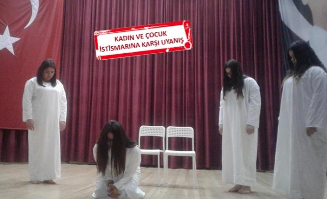 Gençler tiyatro sahnesinden mesaj verecek