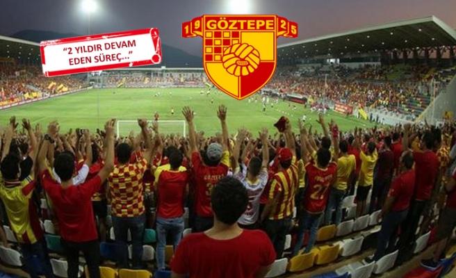 Göztepe'den İzmir Büyükşehir Belediyesi'ne tesis teşekkürü