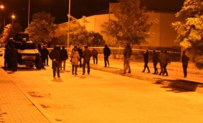 İzmir'de patlaycının infilak anı kamerada