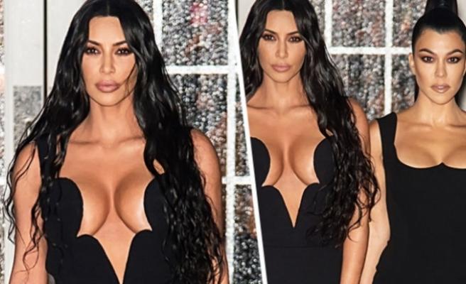Kardashian kardeşler galaya damga vurdu