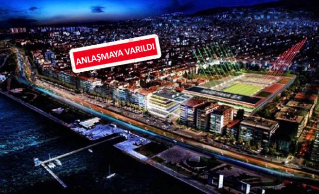 Karşıyaka Stadı'nda bir engel daha aşıldı