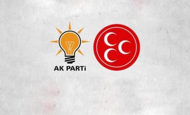 MHP 16, AK Parti 3 ilde adayını geri çekti