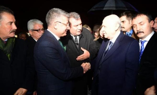 MHP lideri Bahçeli, Adana'da