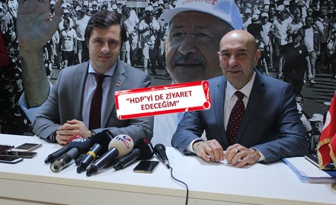 Soyer, CHP İl Başkanlığı'nı ziyaret etti