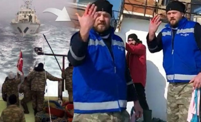 Türk balıkçı teknesine ateş açıldı! Yaralılar var...