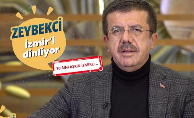 Zeybekci İzmir'i dinliyor