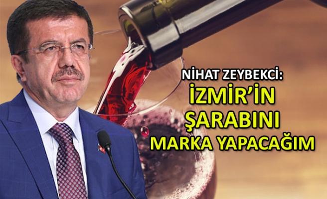 Zeybekci: İzmir'in şarabını uluslararası marka yapacağım