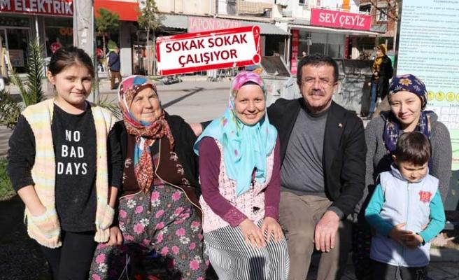 Zeybekci, seçim çalışmalarını tam gaz sürdürüyor