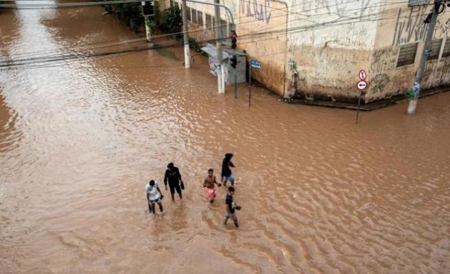 Brezilya'da şiddetli yağışlar 12 can aldı