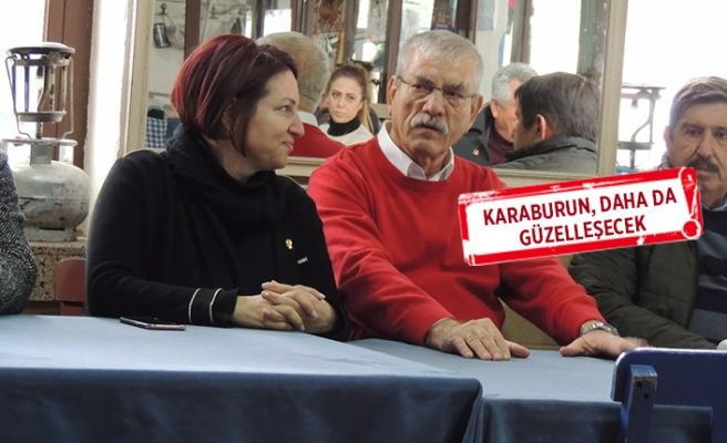 CHP'li Beko alan çalışmalarına Karaburun'dan başladı