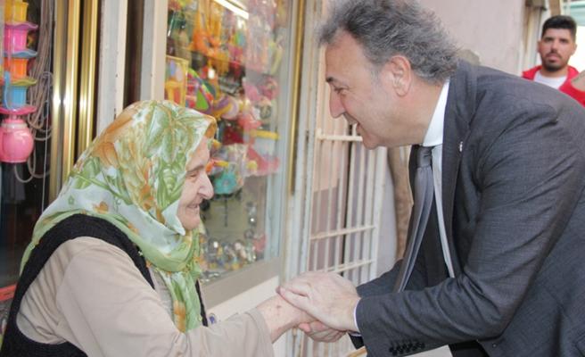 CHP'li İduğ, mahalle ziyaretlerine devam ediyor