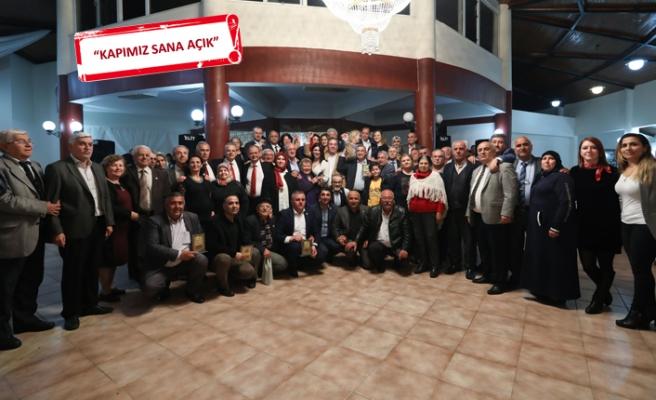 CHP'li Piriştina muhtarlarla vedalaştı
