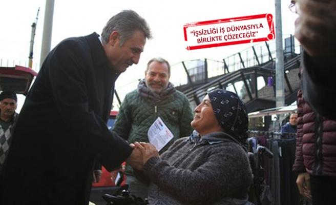 CHP'li Sandal'dan 'işsizlik' hamlesi