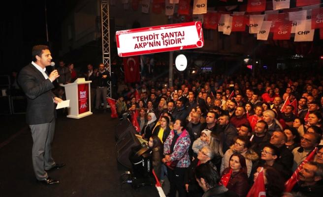 CHP'li Yücel'den Hamza Dağ'a sert sözler